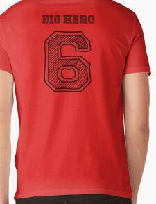 Baymax Big Hero 6 Mens V-Neck T-Shirt
