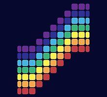 Rainbow Staircase by joshdbb