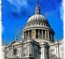 Beautiful Britain - St Paul's Cathedral by Dennis Melling