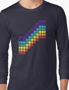 Rainbow Staircase Long Sleeve T-Shirt