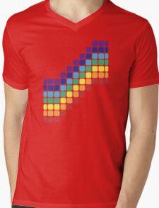 Rainbow Staircase Mens V-Neck T-Shirt
