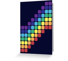 Rainbow Staircase Greeting Card