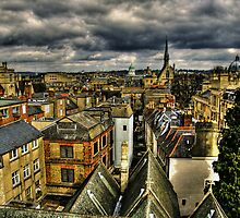 Oxford Skyline by David Jacks