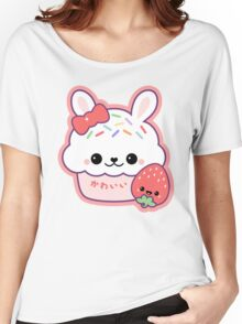 Cute Bunny Cake Women's Relaxed Fit T-Shirt