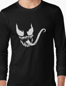 Venom face Long Sleeve T-Shirt