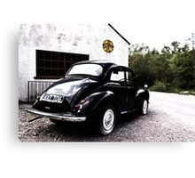 The Morris Minor  Canvas Print