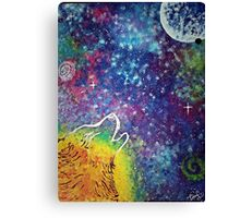 Devoted Moon Canvas Print