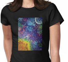 Devoted Moon Womens Fitted T-Shirt