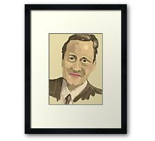 David Cameron Framed Print