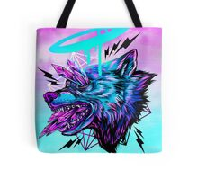 Crystal Wolf  Tote Bag