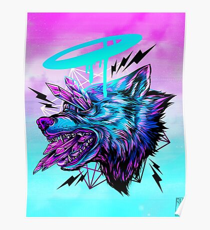 Crystal Wolf  Poster