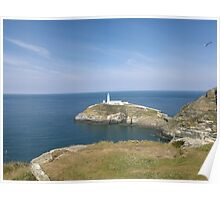 SOUTH STACK ANGLESEY UK Poster