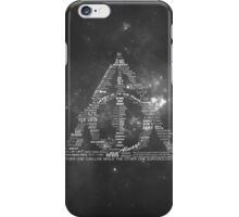 You're a wizard, Harry - Deathly Hallows Version iPhone Case/Skin