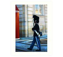 Guard on Patrol Art Print