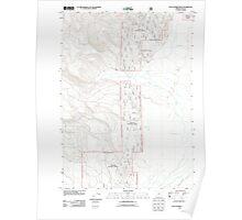 USGS Topo Map Oregon Sycan Marsh West 20110808 TM Poster