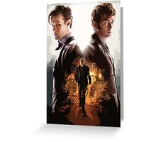 Doctor Who - Modern Graphic Greeting Card