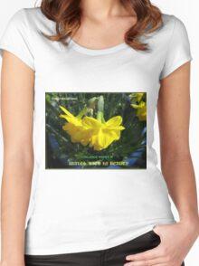 Wales Challenge Winner Banner Women's Fitted Scoop T-Shirt