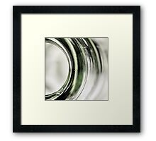 Empty Green... Framed Print