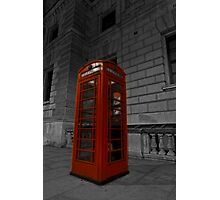 a british icon 1 Photographic Print