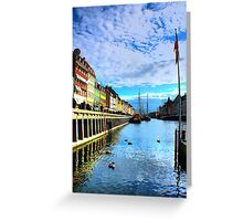 Romance of the River Greeting Card