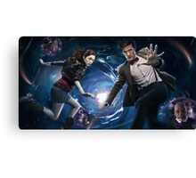 Matt Smith, Karen Gillan Canvas Print
