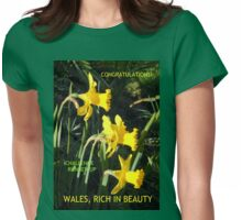 Wales Challenge Runner-up Banner Womens Fitted T-Shirt