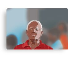 In crowd Canvas Print