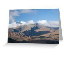 Kerry Mountains Killarney lakes in Ireland 6 Greeting Card
