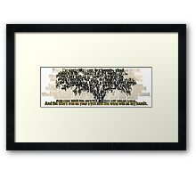 True Detective - Tree of Death Framed Print