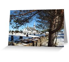 St. Pierre's Roman Catholic Church, Middle West Pubnico Greeting Card