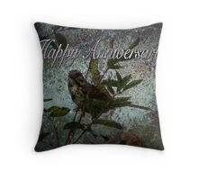 Happy Anniversary (for Penny Odom) Throw Pillow