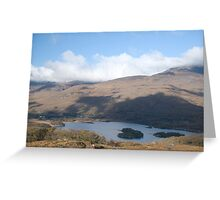 Kerry Mountains Killarney lakes in Ireland 9 Greeting Card