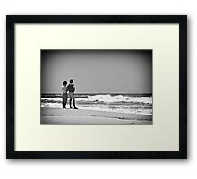Charging batteries Framed Print