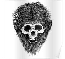 Stack's Skull Sunday No. 3 (Wolf Man) Poster
