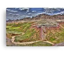 Beauty in the Badlands Canvas Print