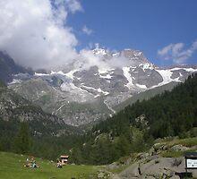 IL MONTE ROSA.....domani e poi..ITALY- EUROPA.- 1500 visualizzaz.  2013 - Featured in italia 500+ VETRINA RB EXPLORE 10 LUGLIO 2012 ---- by Guendalyn