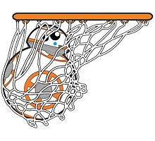BB-8 Slam Dunk! by edgarascensao