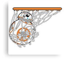 BB-8 Slam Dunk! Canvas Print