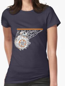 BB-8 Slam Dunk! Womens Fitted T-Shirt