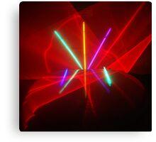 Laser Show Canvas Print
