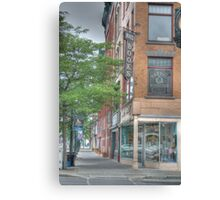 Mando Books - Cortland, NY Canvas Print