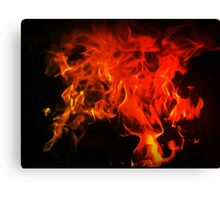 Fire In My Blood Canvas Print