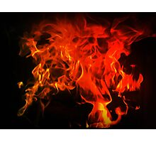 Fire In My Blood Photographic Print