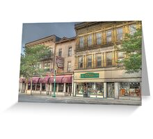 The Community Restaurant - Cortland, NY Greeting Card