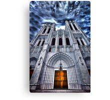 Ominous Church Canvas Print