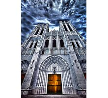 Ominous Church Photographic Print