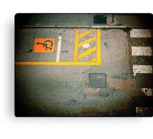 Urban Signs Canvas Print