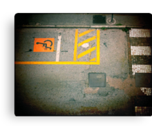 Urban Signs Canvas Print