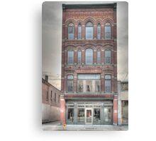 The Beard Building - Cortland, NY Canvas Print