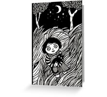 The Dark Dead Meadow Greeting Card